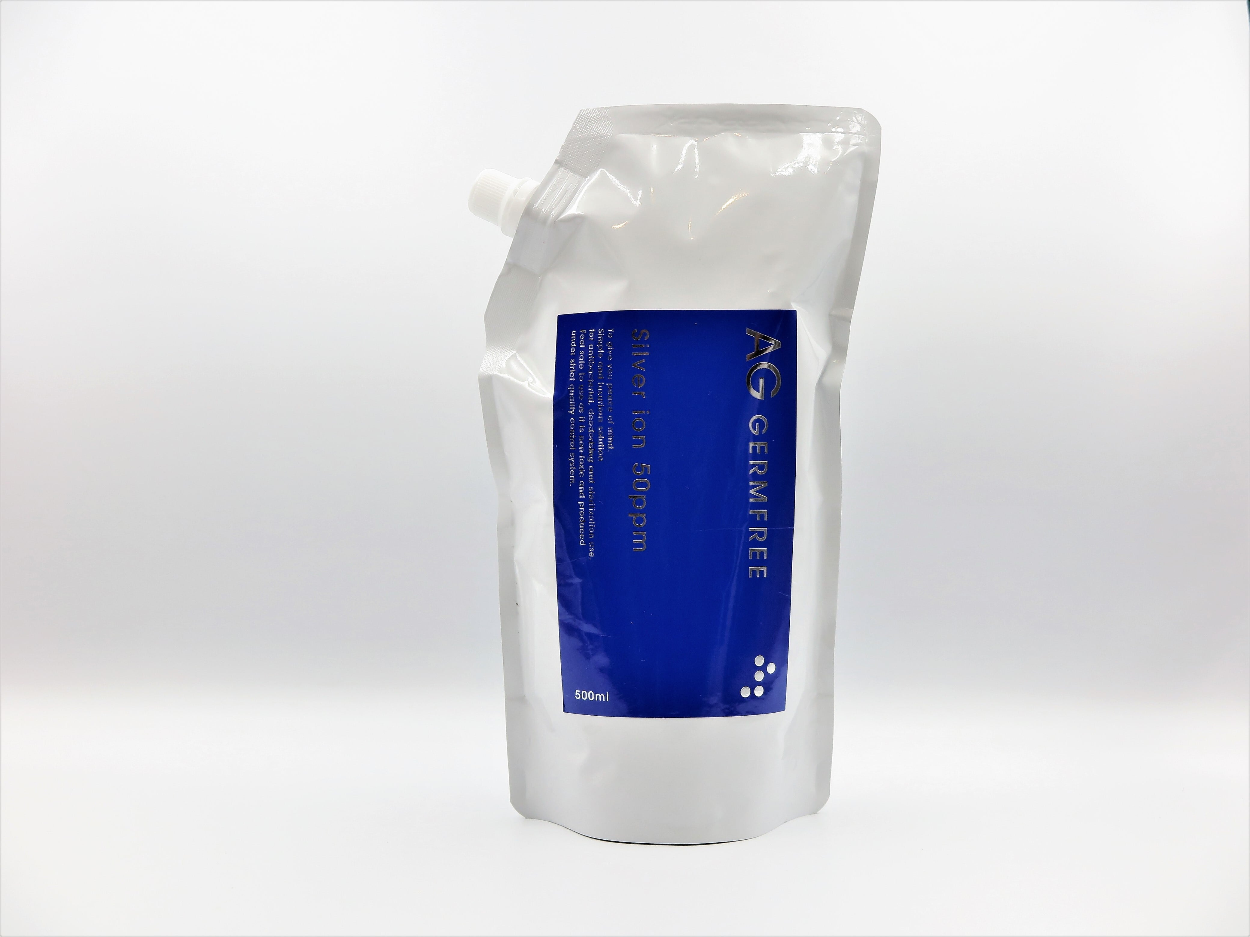 AG GERMFREE 500ml 高濃度銀イオン水(50ppm)除菌・抗菌・消臭に