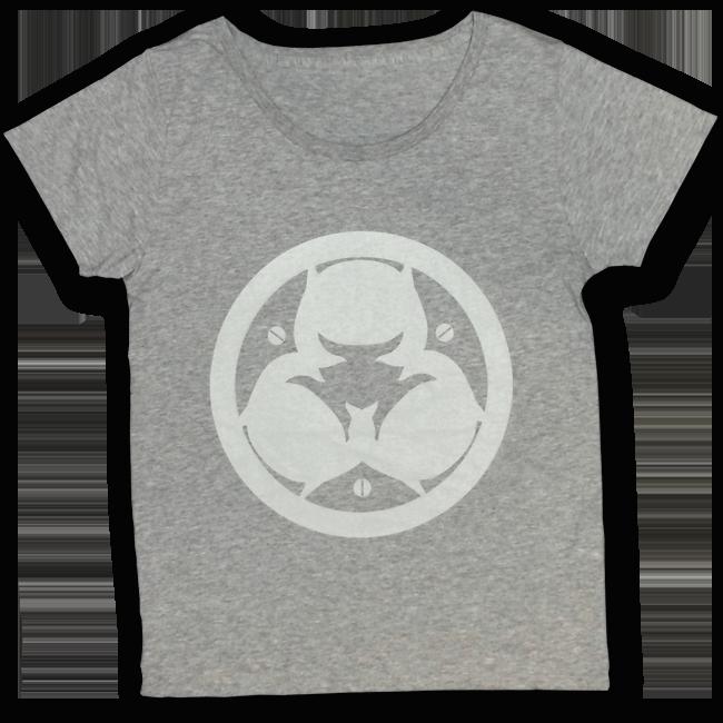 【残り僅か】「ピノキオピー2015年祭りだヘイカモン」Tシャツ(レディース/メランジグレー) - 画像1
