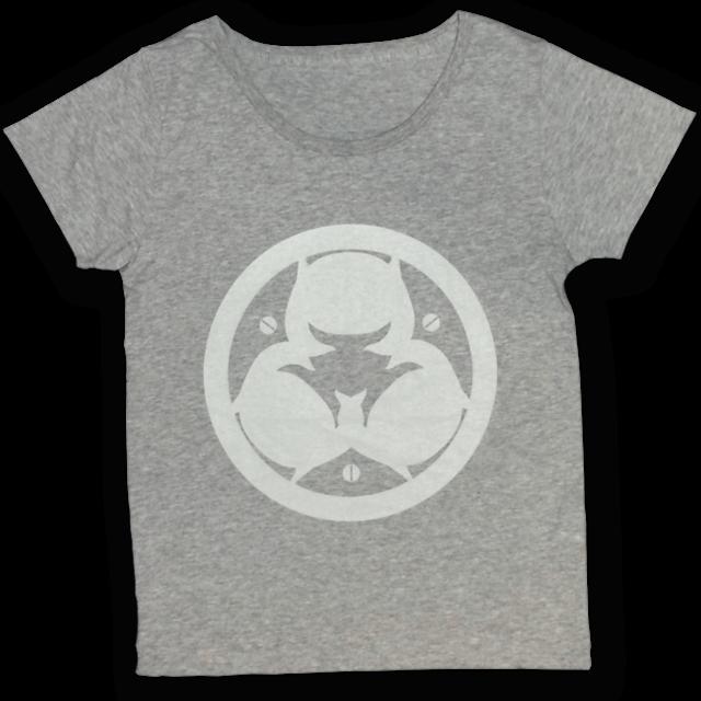 【残り僅か】「ピノキオピー2015年祭りだヘイカモン」Tシャツ(レディース/メランジグレー) - メイン画像