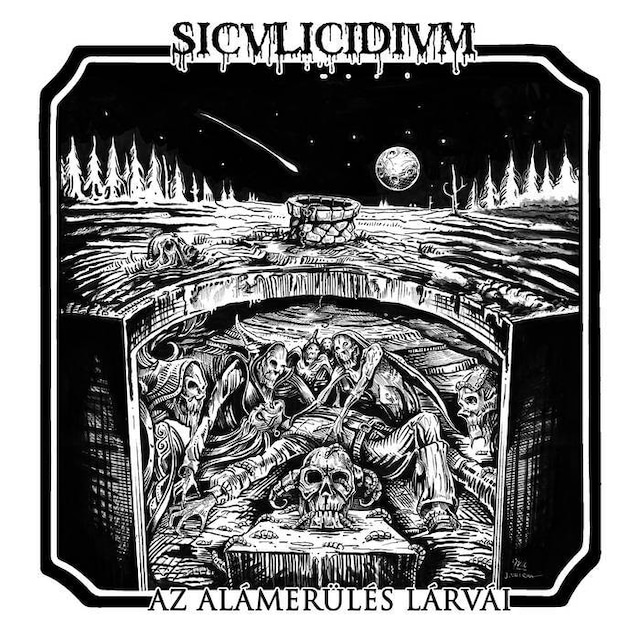 Siculicidium - Az alámerülés lárvái(CD)