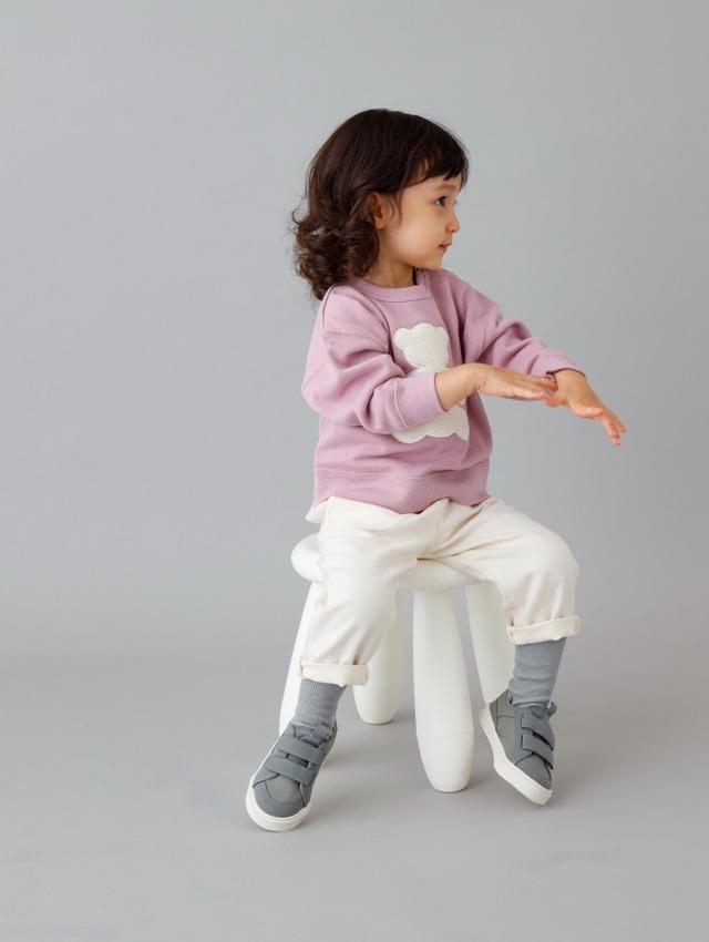 【ベビー服】【コラボ企画】くまさんスウェット/85サイズ/95サイズ