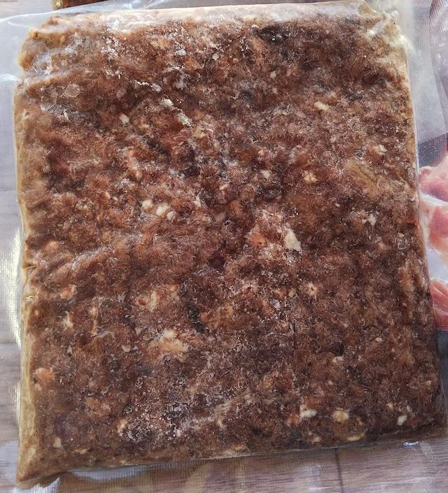 信州わんわんジャーキーオリジナル 冷凍鹿肉ふりかけ 100g 無添加 ペットおやつ