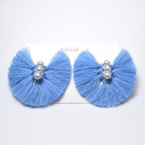 kincot バタフライピアス(ブルー)