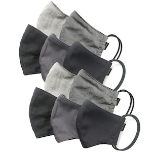 【新作夏用マスク10枚セット 吸水速乾COOLMAX使用 日本製】オーガニック×カモジャガード×クールマックス 10枚セット