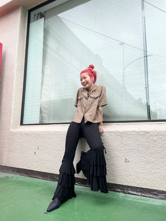 ruffle easy pants  / 7SSPT01-25