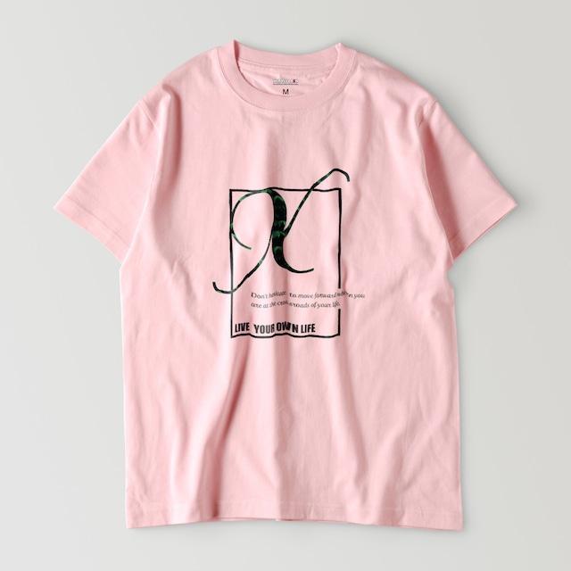 "XCROSS DASH 2020 ORIGINAL LOGO DESIGN ""Pastel color T-shirt"" (6COLOR)"