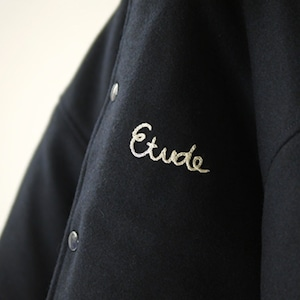 "NHC VARSITY HOODIE JKT ""ETUDE"""