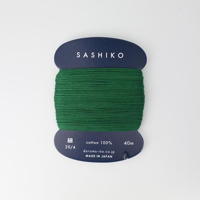 ダルマ刺し子糸(細)単色 208.笹