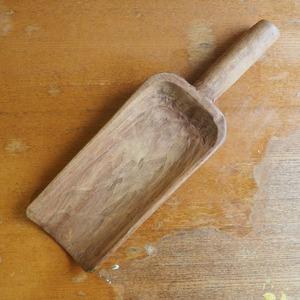 木製のさじ