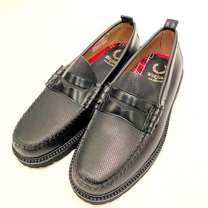 FRED PERRY / G.H.BASS PENNY LOAFER Black