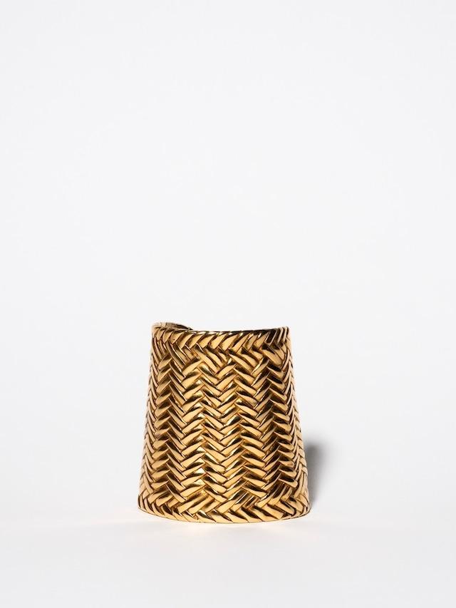 Woven Wide Bangle / Ralph Lauren