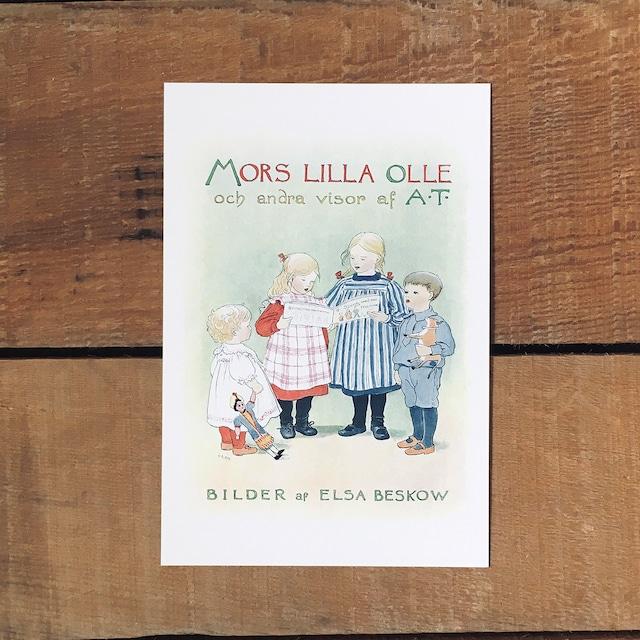 ポストカード「初版表紙(MORS LILLA OLLE - 11)」