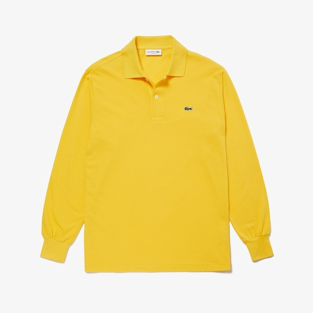 LACOSTE ORIGINAL FIT POLO YELLOW