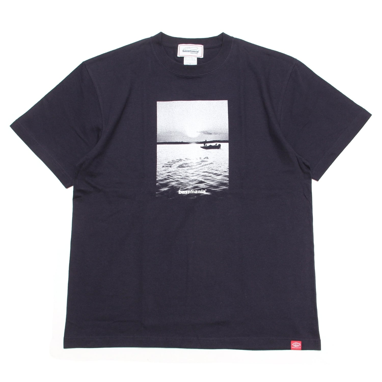 LAKE photo Tシャツ [ネイビー]