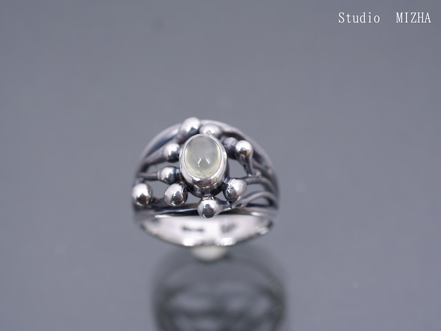 萌芽のリング(金工の指飾りmr21209)