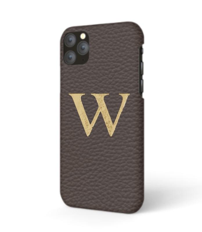 iPhone Premium Shrink Leather Case (Cigar Brown)