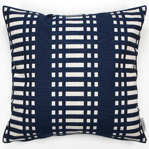JOHANNA GULLICHSEN(ヨハンナ グリクセン) Zipped Cushion Cover Nereus(ネレウス) Dark Blue