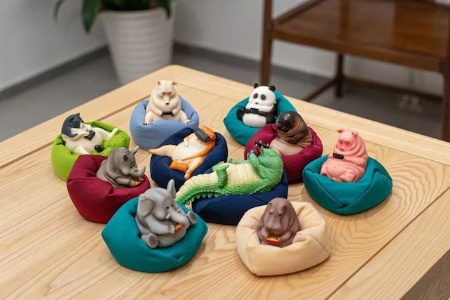 Lazy animals(10個セット)    guodong