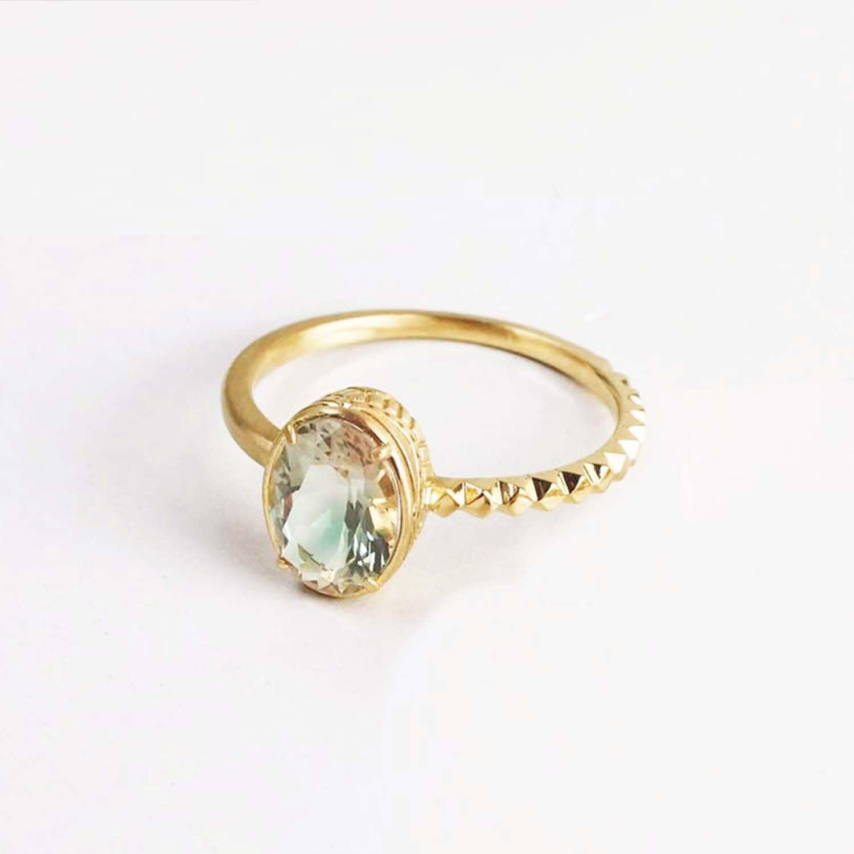 Oregon Sunstone Ring(CR007-OS)