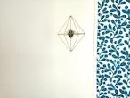 ~エアプランツをおしゃれに飾ろう~真鍮製のエアプランツホルダー(10面体キューブ)