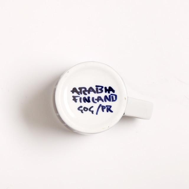 ARABIA アラビア Haarikka ハーリッカ デミタスコーヒーカップ - 12  北欧ヴィンテージ