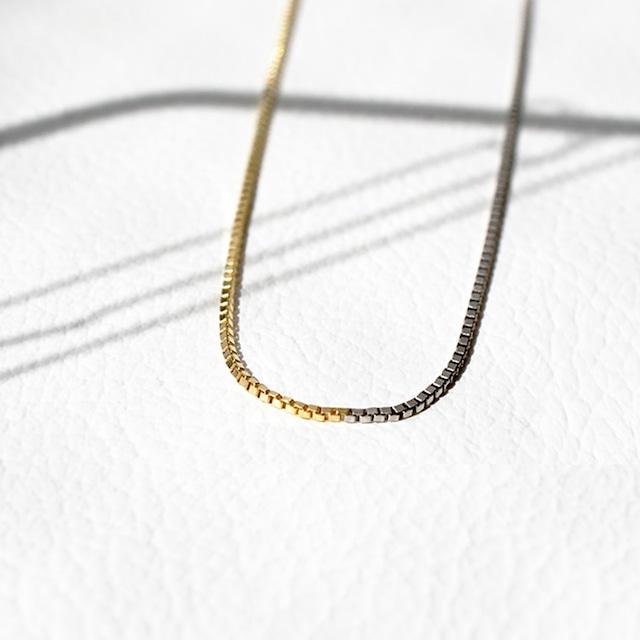 Fusionline Necklace / 40cm(GN001-40YGPT)