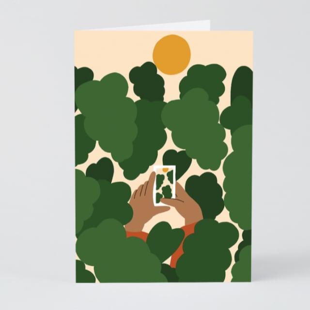 WRAP / Smile!   ART CARD -Artwork by Karl-Joel Larsson-