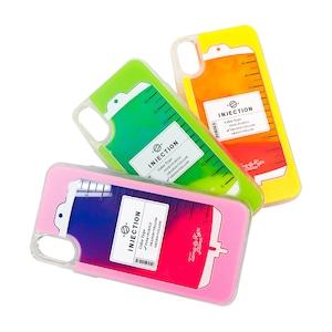 点滴 iphone ネオンサンドケース(iphoneX/Xs対応)