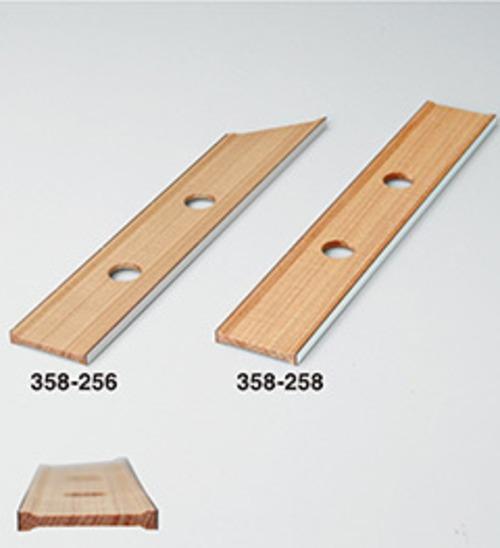 358256木製定規ぴたまる厚7×巾50×長300mm