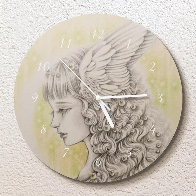 Moonlight forest壁掛け時計(L)