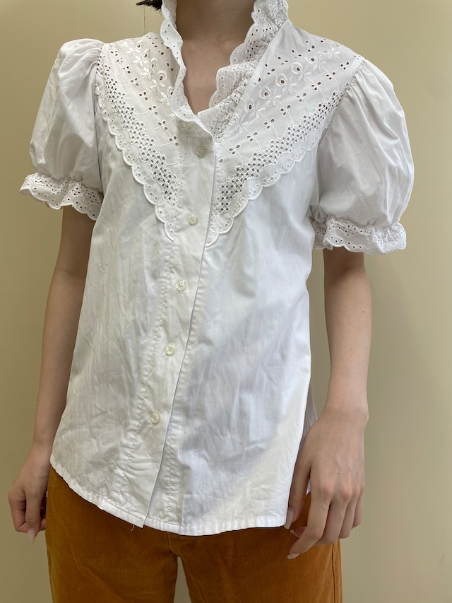 frill  blouse / 7SSTP28-11