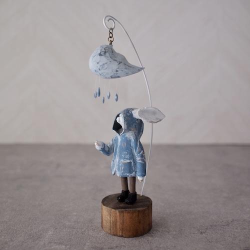 あなたが迷わぬように - 雨 -  塑像