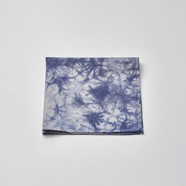 肌触りの良いハンカチ(ブルー) 50cm×50cm