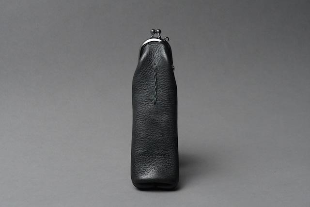 チェーンステッチ ペンケース □ブラック□ - メイン画像