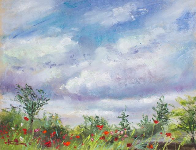 NO.100「雲を眺める・6月」
