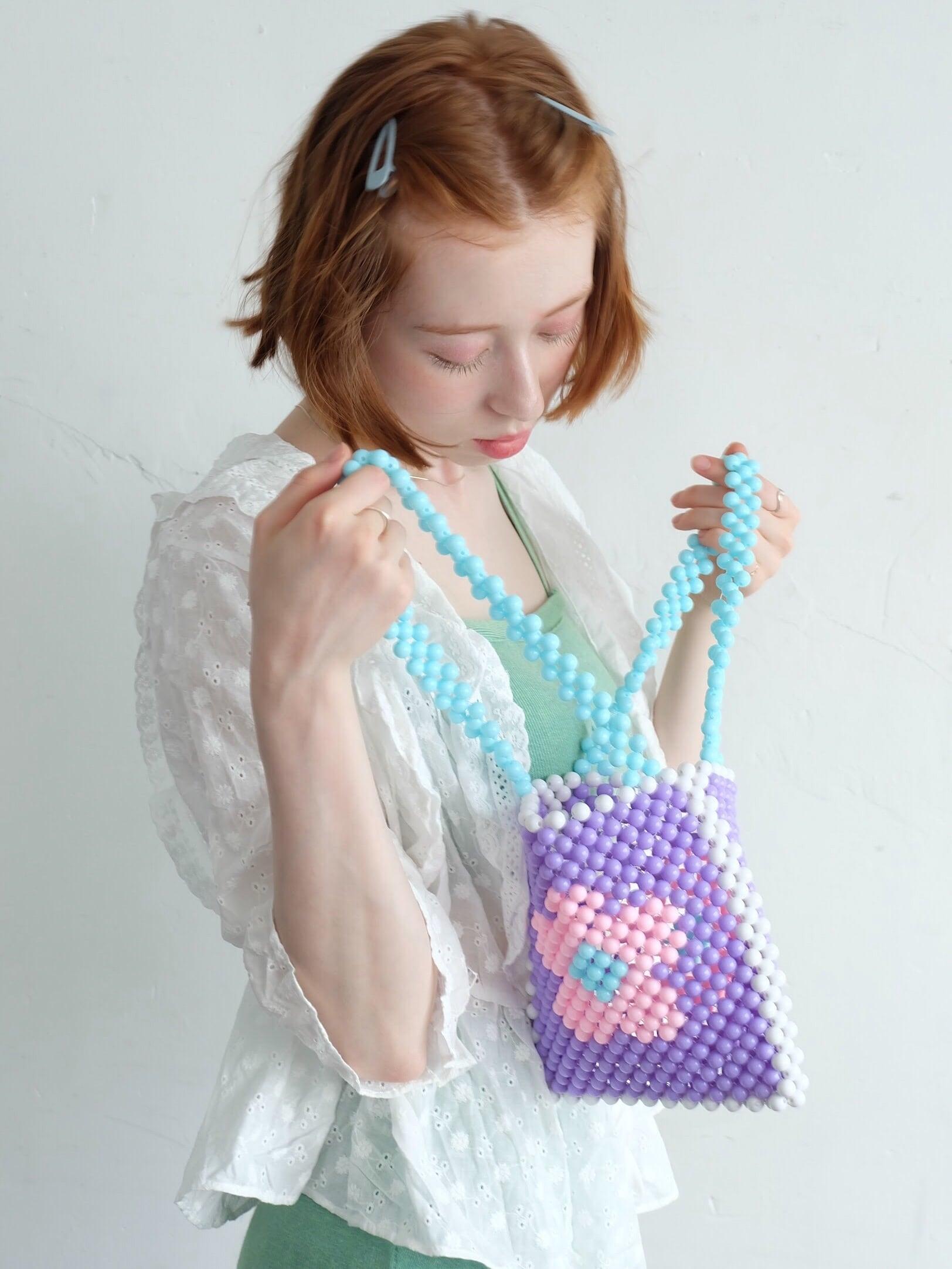 【Limited Item】vintagelike beads bag