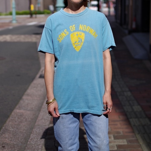 """1970s Russell Vintage T-Shirt """"SONS OF NORWAY"""" / ラッセル ヴィンテージ Tシャツ"""