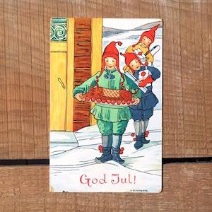 クリスマスカード「V. Schonberg(V.ショーンベリ)」《200311-02》