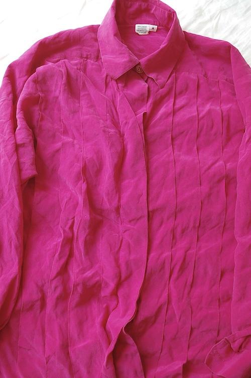 Silk pink blouse
