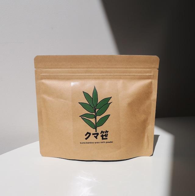 クマ笹茶 無添加100%パウダー     Kuma-zasa tea powder(100g)