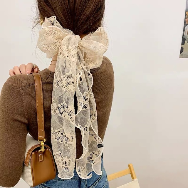 lace embroidery multifunctional scarf 7c's