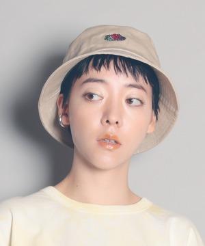 14713000【FRUIT OF THE LOOM/フルーツオブザルーム】FTL EMB BUCKET HAT/刺繍バケットハット