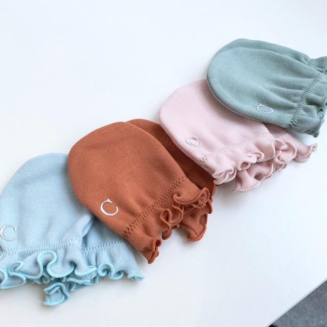 【ベビー服】ミトン/ベビーギフトにおすすめ/4色