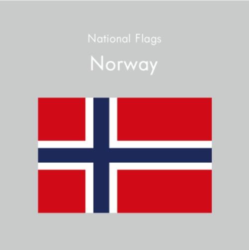 国旗ステッカー ノルウェー