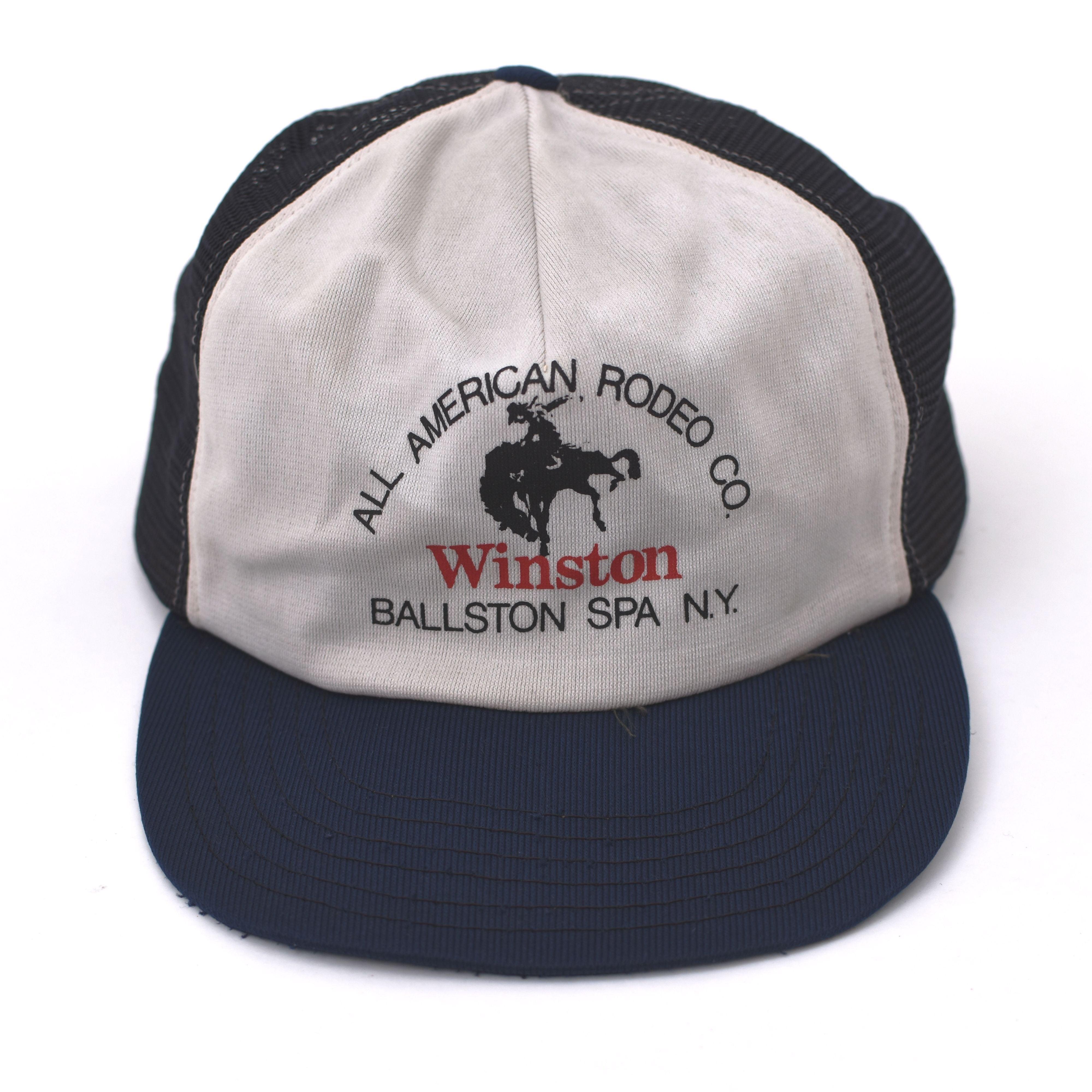 USA Made Winston official baseball cap ヴィンテージ メッシュキャップ