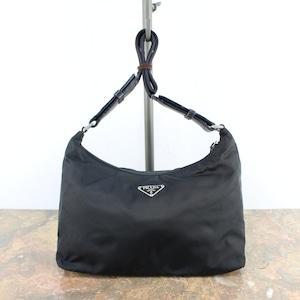 PRADA  NYLON SEMI SHOULDER BAG MADE IN ITALY/プラダナイロンセミショルダーバッグ