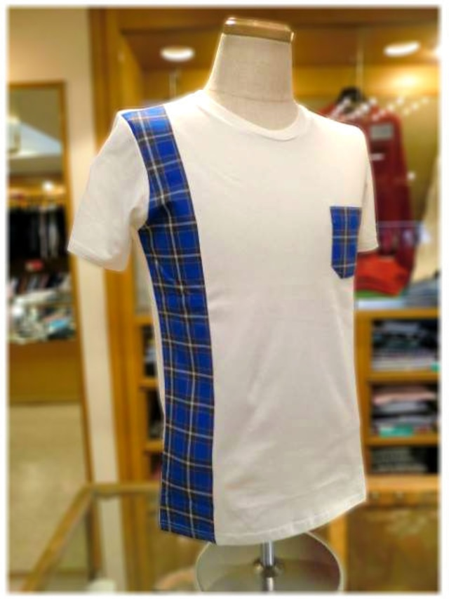 KOBE TARTAN         神戸タータン             クルーネック 半袖Tシャツ