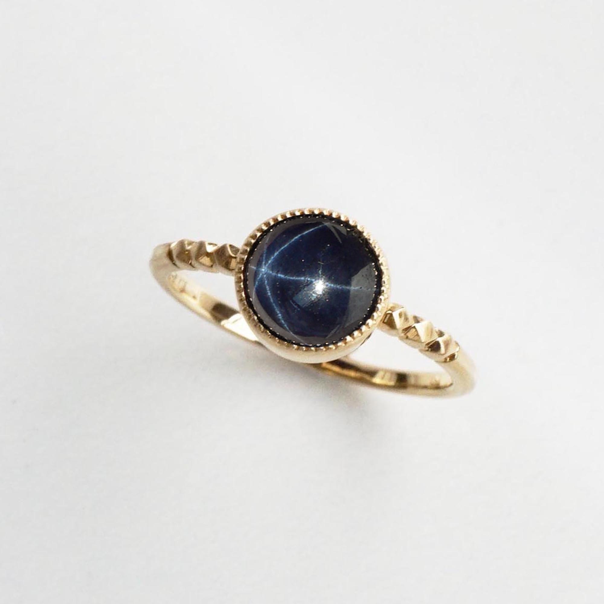 Star Sapphire Ring(R308-SS)