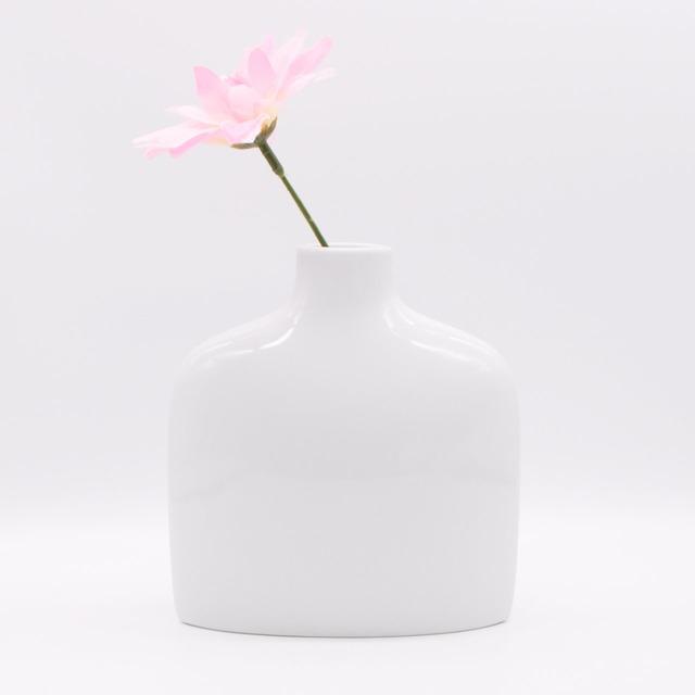 【限定1点 アウトレット品】波佐見焼 family vase 花瓶 F ホワイト 253134 豆豆市201
