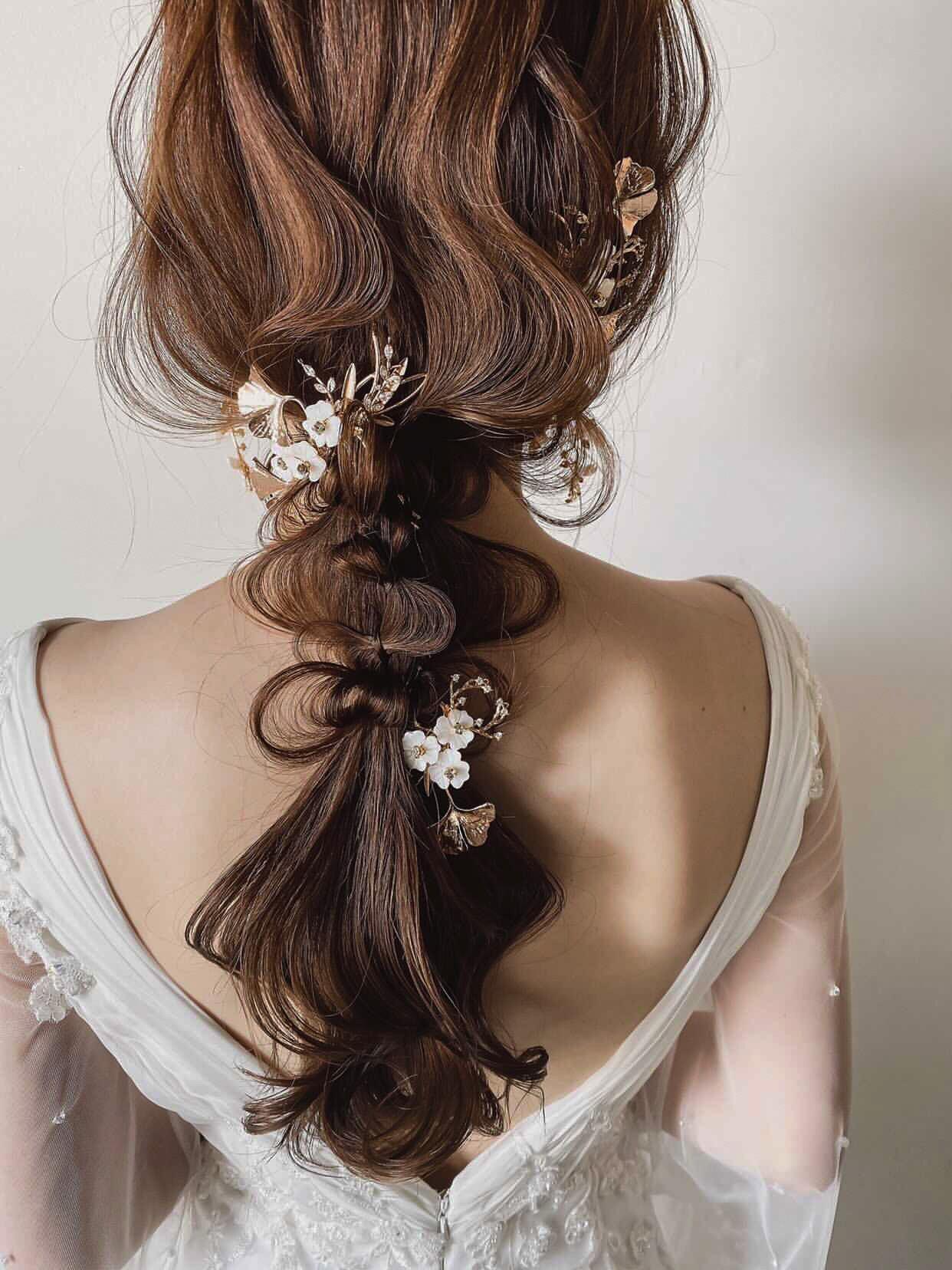 ブライダルヘッドドレス[HA-132]